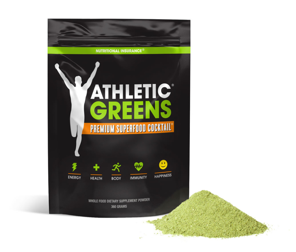 athletic greens review - packaging