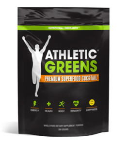athletic greens review pouch